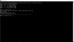 How To Open Command Prompt Using Python