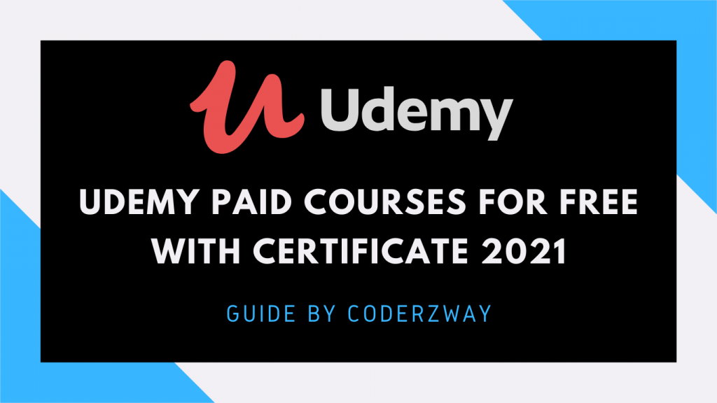 udemy paid courses for free with cerificate