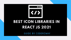 best icon libraries in react js